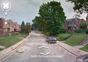 North Symington Avenue