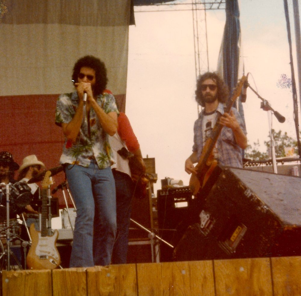 Mickey at King's Dominion, summer 1978. That's Chris Ethridge on bass.
