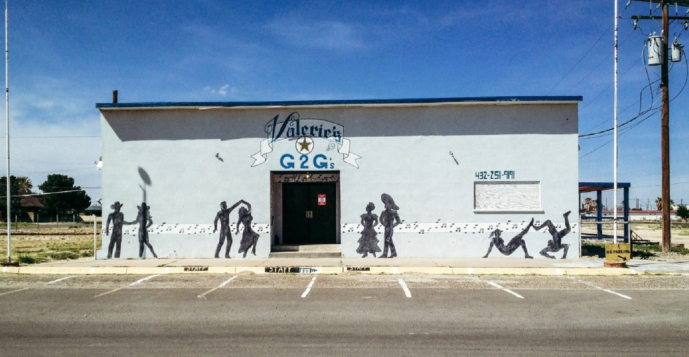 Cowboys, Boxing, Music and Dance Hall in Ft. Stockton